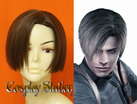Resident Evil 4 Leon Kennedy Cosplay Wig