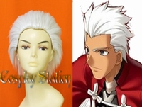 Fate Stay/Night Cosplay Archer Custom Made White Cosplay Wig