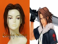 Kingdom Hearts 2 Leon Cosplay Wig