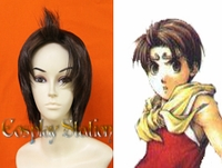 Suikoden II Cosplay Riou Custom Made Cosplay Wig