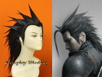 Final Fantasy XII Crisis Core Zack Fair Cosplay Wig_Latest Design!