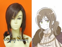 Hetalia Axis Powers Hungary Custom Styled Cosplay Wig