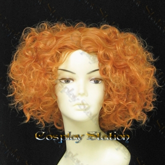 Alice In wonderland Mad Hatter Custom Styled Cosplay Wig