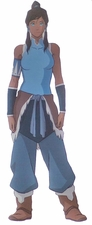 Avatar The Legend of Korra Korra Cosplay Costume