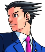 Ace Attorney Phoenix Wright Custom Styled Cosplay Wig
