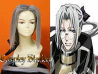 Trinity Blood Abel Nightroad Cosplay Wig