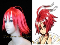 .Hack//G.U. Trilogy  Alkaid Red Custom Styled Cosplay Wig