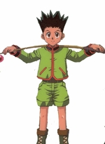 "Hunter x Hunter Cosplay Gon Huri Kusu Cosplay Costume_<font color=""red"">New Arrival!</font>"