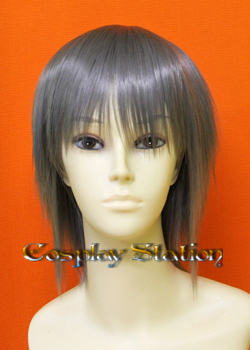 Dark Grey Short Cosplay Wig
