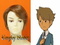 Professor Layton Clive Custom Made Cosplay Wig