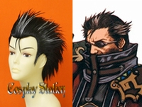 Final Fantasy X Auron Custom Made Cosplay Wig