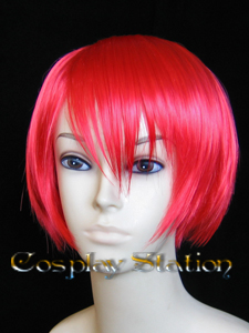 Kingdom Hearts KAIRI Short Commission Red Cosplay Wig