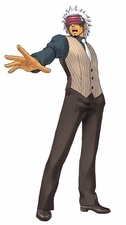 """Ace Attorney Phoenix Wright Godot Cosplay Costume_<font color=""""red"""">New Arrival!</font>"""