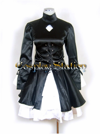 Fate Hollow Ataraxia Saber Cosplay Costume