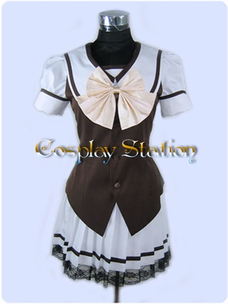 Shuffle Summer School Uniform Cosplay Costume