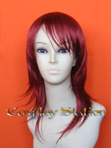 Final fantasy VII Cissnei Commission Cosplay Wig