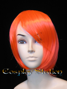 Medium Orange Cosplay Wig