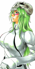 Bleach Neliel Green Wavy Commission Cosplay Wig