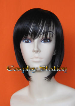 Medium Black Cosplay Wig