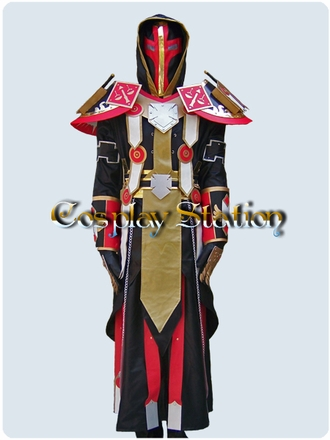 World of Warcraft Paladin Judgement Cosplay Costume