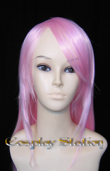 28 Inches Pink Cosplay Wig