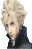 Final Fantasy Cloud Strife Cosplay Wig