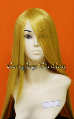 "35 inches Long Yellow Blonde Cosplay Wig_<font color=""red""> New Arrival!</font>"