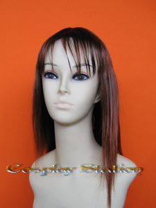 Final Fantasy VIII 8 Rinoa Brown Cosplay Wig