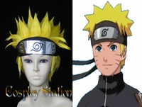 Naruto Uzumaki Commission Cosplay Wig_New Version!!