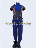 Final Fantasy XII Crisis Core Zack Fair Commission Cosplay Costume