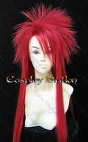 Dir en Grey Die Custom Made Red Cosplay Wig