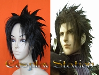Final Fantasy XII Crisis Core Zack Fair Commission Cosplay Wig