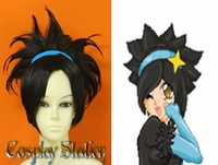 Pokemon Gijinka Cosplay Luxray Custom Made Cosplay Wig