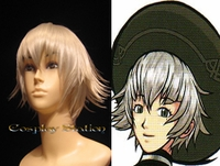.Hack Shino Silver Cosplay Wig