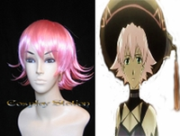 .Hack Shino Pink Cosplay Wig