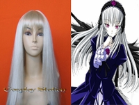 Rozen Maiden Suigintou Cosplay Wig_New Design!