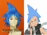 Soul Eater Black Star Custom Made Cosplay Wig