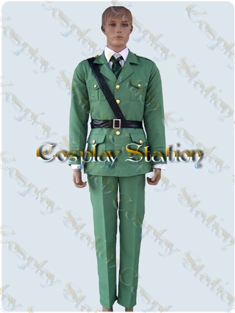 Hetalia Axis Powers Lithuania Cosplay Costume