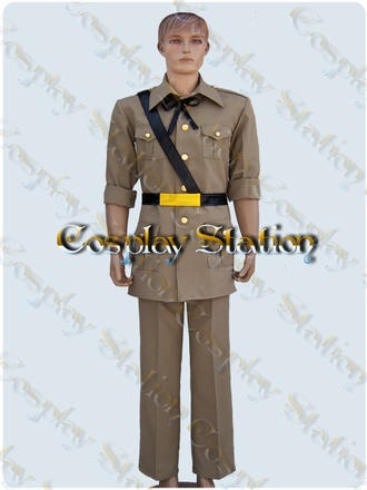 Hetalia Axis Powers Spain Cosplay Costume