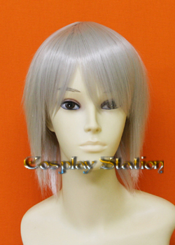 Kingdom Hearts Riku Silver Cosplay Wig
