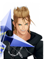Kingdom Hearts II Organization XIII  Demyx Cosplay Wig
