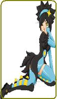 Pokemon Gijinka Cosplay Luxray Cosplay Costume