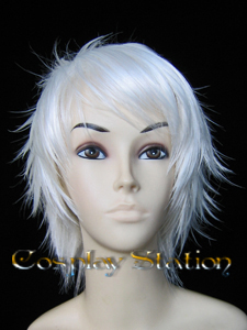 RAGNAROK Online HIGH PRIEST White Cosplay Wig