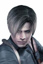 Resident Evil 4 Leon Kennedy Custom Made Cosplay Wig