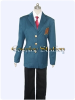 The Melancholy of Haruhi Suzumiya Boy School Uniform Cosplay Costume