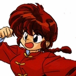 Ranma ½ Ranma Saotome Female Version Commission Cosplay Wig