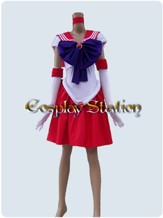 Sailor Moon Sailor Mars Raye Cosplay Costume