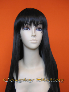 Sailor Moon Sailor Mars Raye Black Cosplay Wig