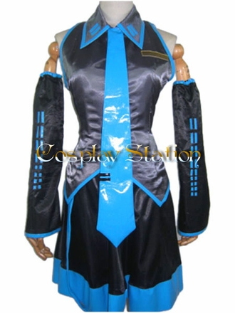 "Volcaloid2 Hatsune Miku Cosplay Costume_<font color=""red"" > New Arrival!</font>"