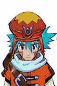 .Hack // G.U Azure Kite Blue Cosplay Wig